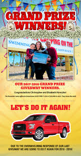 Pismo Sands Beach Club - Make A Reservation Pismo Sands Beach Club Make A Reservation Official Megaraptor Giveaway Tshirt 40 Chances To Win Defco Trucks Win Mustang Car Sweepstakes 2013 Sweeps Maniac Lexington Bbq Festival Ram Sweepstakes M L Ford 2018 Vehicle Sweepakeslistingstodaycom Diessellerz Home Winner And United Way Advocate Selects New Car That Sweeptsakes Bangshiftcom Upgrade The Brakes On A 1971 C10 Chevy Pickup Truck Wisconsin Super Dealers Daily Giveaways Builds Blog