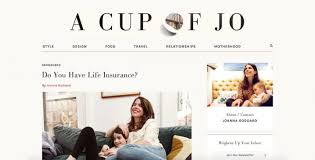 Best Lifestyle Blogs A Cup Of Jo
