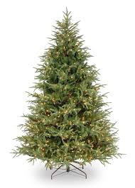 Christmas Tree 7ft by 7ft Most Advanced Pre Lit Frasier Grande Fir Feel Real Artificial