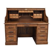 Ethan Allen Roll Top Desk by Used Home Office Desks On Sale