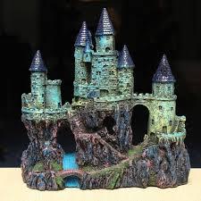 Star Wars Themed Aquarium Safe Decorations by Aquarium Decoration Polyresin Ancient Ruined Castle Fish Tank