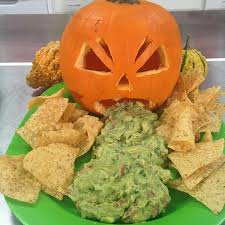 Pumpkin Guacamole Throw Up Cheese by 16 Vomiting Pumpkin Dip Pumpkin Throwing Up Halloweeeen