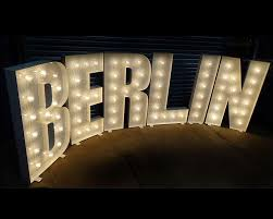Letter Lightbox And Neon Lights The Vintage Chandelier Company