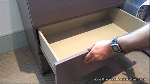 Hemnes Dresser Instructions 3 Drawer by Ikea Malm Drawers Design Youtube