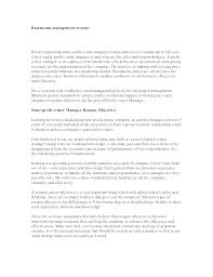 Management Resume Objectives Objective Sales Professional Examples Retail
