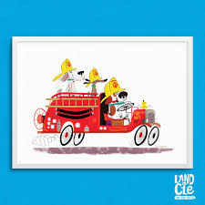 Firefighter Wall Art Dog Firetruck Art Print Vintage Fire Design ... Fire Engine Birth Print Printable Nursery Wall Art Fire Truck Button Busted Name Decal With Initial And Fighter Boy Firetruck Decor Fire Truck Wall Decal Sticker Art Boys Fdny Patent Aerial 1940 Design By Jj Grybos Huge Mural Personalized For Free Kasens Room 2018 Hd Printed Canvas Red Vehicle Pictures For Toddler Bedding Bedroom Ideas Engine Coma Frique Studio Dcc92ad1776b Wwwgrislyinfo