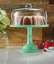 The Pioneer WomenR Glass Covered Jadeite Cake Stand From Walmart USA 1976