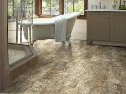 wood peel and stick flooring vinyl tile flooring in the bathroom