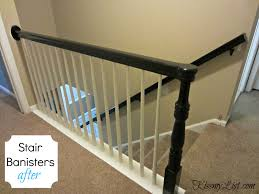 My Humongous DIY Stairs Fail | Kiss My List Contemporary Stair Banisters How To Replace Banister Stair Banister Rails The Part Of For What Is A On Stairs Handrail Code For And Guards Stpaint An Oak The Shortcut Methodno Architecture Inspiring Handrails Beautiful 25 Best Steel Handrail Ideas On Pinterest Remodelaholic Diy Makeover Using Gel Stain Wood Railings Best Railing Amazoncom Cunina 1 Pcs Fit 36 Inch Baby Gate Adapter Kit Michael Smyth Carpentry