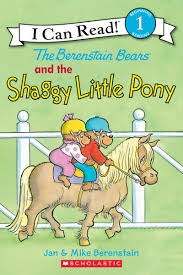 Berenstain Bears Halloween Book by The Berenstain Bears And The Shaggy Little Pony By Jan Berenstain
