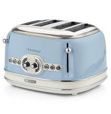 Vintage Toaster Blue 4 Slices