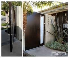 100 Contemporary Gate Modern Pivot With A Flare Of Mid Century Architectural
