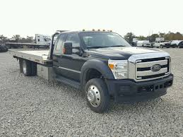 Salvage 2015 Ford F550 SUPER Truck For Sale