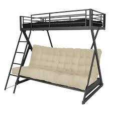 lit mezzanine avec canapé convertible fixé canapé idées de