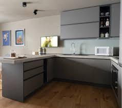 moderne design beige farbe holz küche möbel l form küche