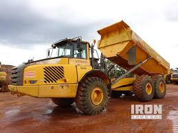 100 Dump Trucks Videos 2008 Unverified Volvo A35E Articulated Truck In Ocana ES45