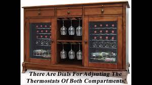 Tresanti Wine Cabinet Zinfandel by Wood Wine Cooler Cabinets Roselawnlutheran