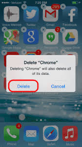 iPhone 8 X How to Delete Apps