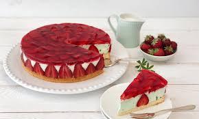 erdbeer waldmeister torte