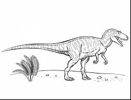 Awesome Printable Dinosaur Coloring Pages For Kids With And Free Cute