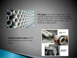 Pictures Types Of Pipes Used In Plumbing by Pipes Fittings Fixtures And Appliance