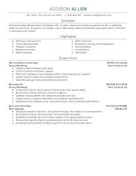 Event Coordinator Resume Gallery Of Sample Template Events