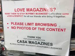 100 Casa Magazines Nyc Magazine Specialist Store In New York