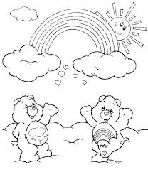 Rainbow Colouring Sheets Interesting Coloring Pages Free Printable