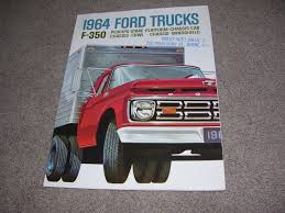 1964 FORD TRUCK F-350 Pickups Brochure - $9.95 | PicClick 1964 Ford F100 For Sale Classiccarscom Cc1042774 Fordtruck 12 64ft1276d Desert Valley Auto Parts Looking A Vintage Bring This One Home Restored Interior Of A Ford Step Side F 100 Ideas Truck Hot Rod Network Pickup Ozdereinfo Demo Shop Manual 100350 Series Supertionals All Fords Show Old Trucks In Pa Better Antique 350 Dump 1962 Short Bed Unibody Youtube Original Ford City Size Diesel Delivery Truck Brochure 8