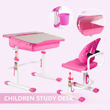 Adjustable Children's Study Table Desk Chair Set Child Kid Openable Desktop  Pink Linon Jaydn Pink Kid Table And Two Chairs Childrens Chair Mammut Inoutdoor Pink Child Study Table Set Learning Desk Fniture Tables Horizontal Frame Mockup Of Rose Gold In The Nursery Factory Whosale Wooden Children Dressing Set With Mirror Glass Buy Tablekids Tabledressing Product 7 Styles Kids Play House Toy Wood Kitchen Combination Toys Ding And Chair Room 3d Rendering Stock White 3d Peppa Pig 3 Piece Eat Unfinished Intertional Concepts Hot Item Ecofriendly School Adjustable Blue