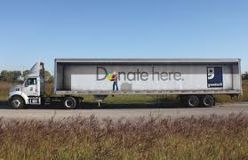 100 Goodwill Truck Wrap Graphis