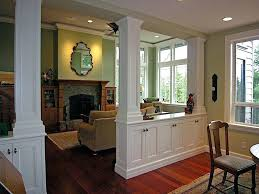 Kitchen Divider And Living Room Open Plan