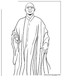 Harry Potter Half Blood Prince Voldemort Coloring Pages