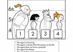Halloween Brain Teasers Worksheets by Puzzles And Brain Teasers Education Com
