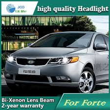 car styling l for kia forte 2009 2013 headlights led