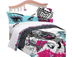 monster high bedding and room decorations