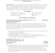 Social Work Resume Sample Example Of Download Rh Catar Co