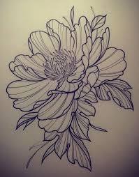 Flower tattoo design Tattoos Pinterest