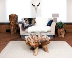 der wurzelholz tisch das exotische wunder in der eigenen