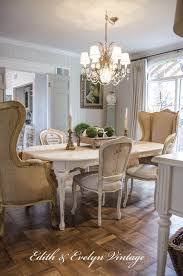 dining room french shabby chic dining table parisian style