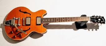 100 Gibson Custom Homes Shop ES336 Transparent Orange W Bigsby Guitar