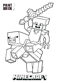 Coloring Pages Cutout Diamond Armor