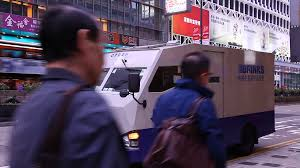 100 Armor Truck Job Bullet Proof Secured Armored Truck Vehicle Transfer Cash Stock Video