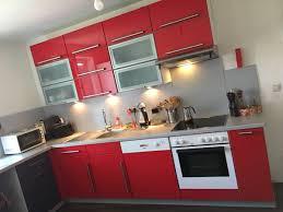 küche l form rot grau hochglanz in 80687 münchen for