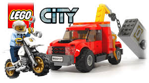 LEGO City Tow Truck Trouble 60137 - YouTube