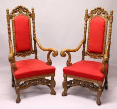 A GOOD PAIR OF JACOBEAN STYLE CARVED OAK HIGH BACK ARMCHAIR, Carved Mahogany High Back Ding Side Chairs Collectors Weekly Arm Chair Kiefer And Upholstered Rest From Followbeacon Antique Vintage Set Of 6 Edwardian Oak French Style Fabric Solid Wood Wooden Buy Chairupholstered Chairssolid Beautiful Of Eight Quality Victorian 19th Century Renaissance Throne Four Antiquue Early 20th Art Deco Classical Chinese Fniture A Collecting Guide Christies Pdf 134