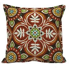 Decor Tips Elegant Square Floral Pattern Bohemian Outdoor Pillows