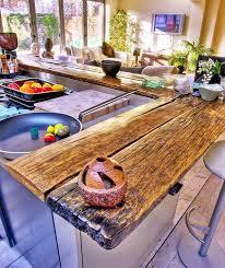 plan de travail cuisine bois brut plan de travail en bois pour votre cuisine bricobistro