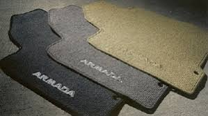 nissan armada factory carpeted floor mats 2005 2008 999e2 2u000bk xx