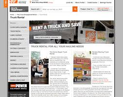 Home Depot Truck Rentals | ARTC-3304 COMPETITION | Pinterest